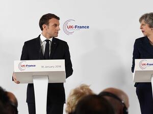 Френският президент Еманюел Макрон предупреди Великобритания, че бъдещото споразумение за