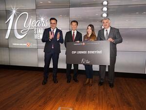 Turkish Airlines отбеляза десетата годишнина от присъединяването си към глобалната