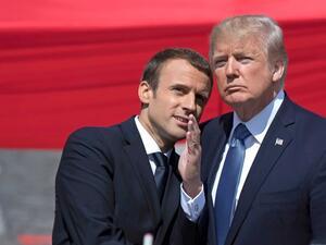 Френският президент Еманюел Макрон ще стане днес първият световен лидер,