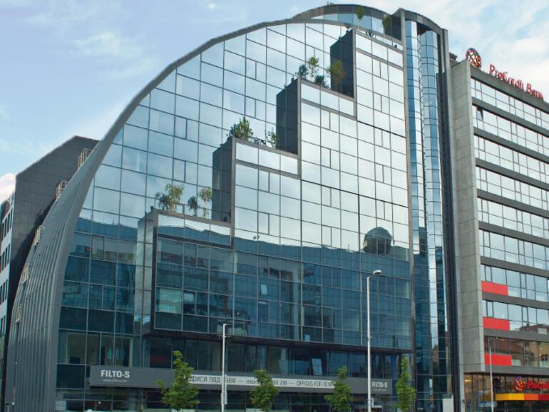 Лек ръст на наемите на първокласни офис площи в София