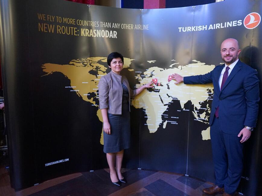 Turkish Airlines с полети до нова дестинация в Русия