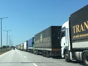 Превозвачите блокират София пред лидерите на ЕС