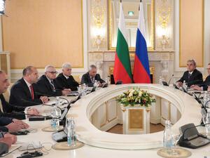 Президентът Румен Радев определи визитата си в Русия като пробив,