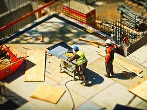 През юли строителната продукция е нараснала с 4.3% спрямо същия