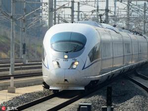 Китай даде зелена светлина на първия частен проект за високоскоростна жп линия