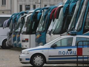 Автобусните превози спират за час и половина заради протест