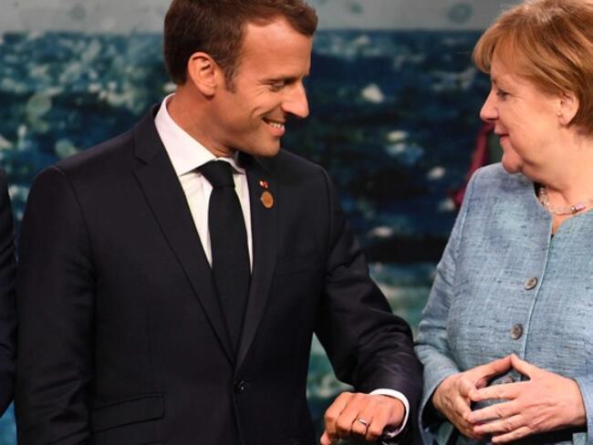 Еврото, миграцията и международната ситуация са във фокуса на среща Макрон - Меркел