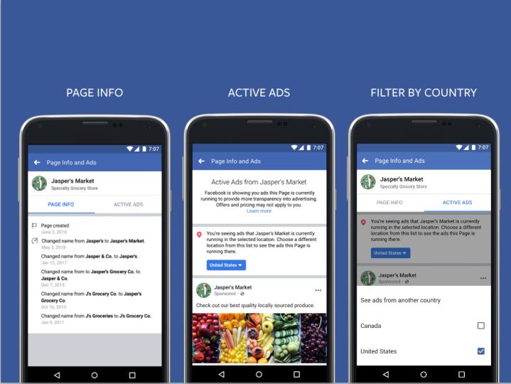 Facebook въвежда промени за прозрачност на рекламите