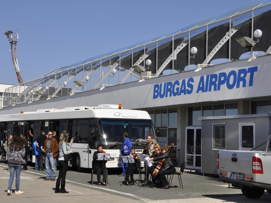 Руска авиокомпания откри целогодишна линия Бургас - Москва