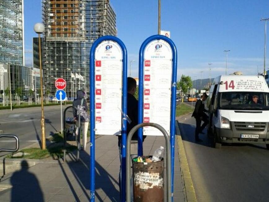 Предстои отдаването на концесия на 2607 спирки на столичния градски транспорт