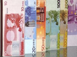 На 17 септември Европейската централна банка издаде нови банкноти с