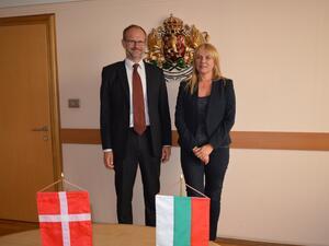 Два пъти е нараснал стокообменът на България с Кралство Дания