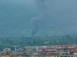 """Завод """"Арсенал"""" в Казанлък беше разтърсен от 2 взрива"""
