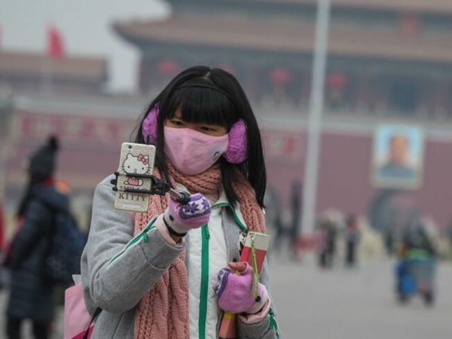 Китай обяви жълт код заради смог