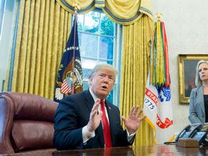 Президентът на САЩ Доналд Тръмп е заявил пред свои съветници,