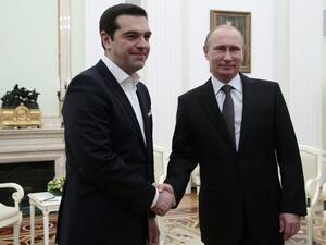 """Алексис Ципрас е в Москва заради """"Турски поток"""""""