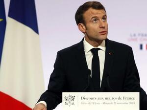 Френският президент Еманюел Макрон ще направи днес обръщение към сънародниците
