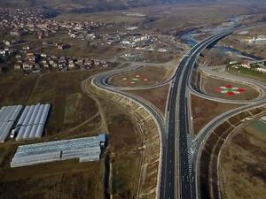 "Нов 24-километров участък от магистрала ""Струма"" между Кресна и Сандански"