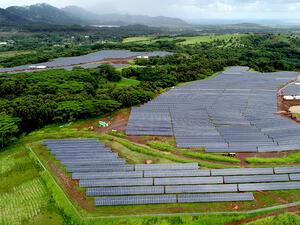 AES откри най-големия в света хибриден парк за производство и съхранение на слънчева енергия