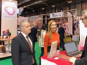 Министър Ангелкова откри българския щанд на световното изложение FITUR