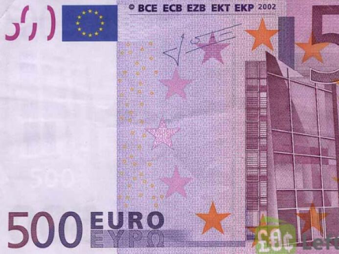 Повечето национални банки в еврозоната спират да емитират банкноти от 500 евро