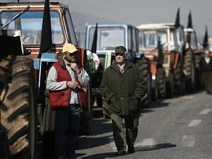 Снимка: Гръцките фермери заплашват да блокират цялата страна
