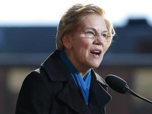 Сенаторката от Демократическата партия на САЩ Елизабет Уорън обяви вчера,