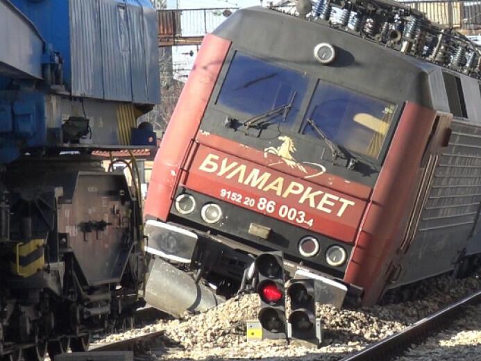 Счупена стрелка е дерайлирала товарния влак на гара Пловдив, твърди превозвачът