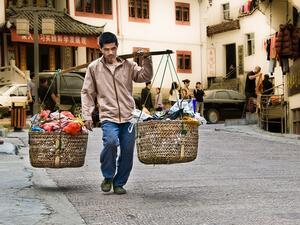 Миналата година Китай е избавил 13,86 милиона души в селските