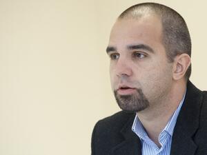 Социологът Първан Симеонов, директор на