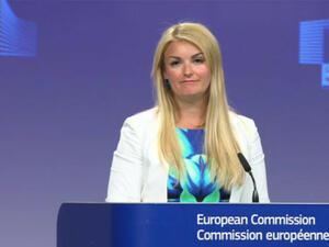 Българката Мина Андреева оглавява службата на говорителите на Европейската комисия,