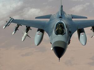 Снимка: Министерството на отбраната: Преведена е сумата по договорите за доставка на самолети F-16 Block 70