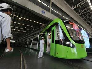 В Будапеща Китайската компания за производство на електрически локомотиви CRRC