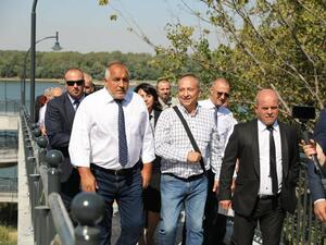 Министър-председателят Бойко Борисов заяви в Русе, че ГЕРБ няма да