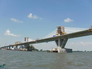 Дунав мост II вече е напълно съединен