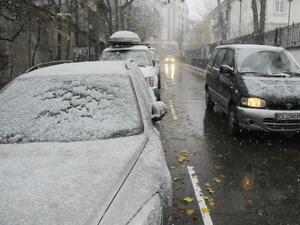Усложнена пътна обстановка в Северна България*