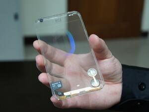 Идва първият прозрачен телефон 10