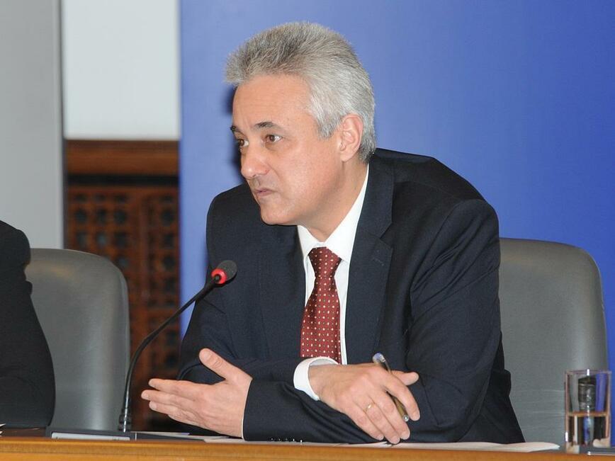<p>Марин Райков, министър-председател в служебното правителство</p>