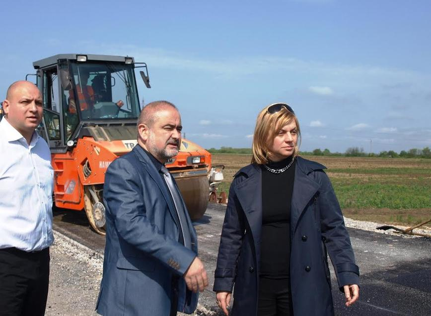 Десислава Терзиева: Обходът на Враца се изпълнява качествено и в срок