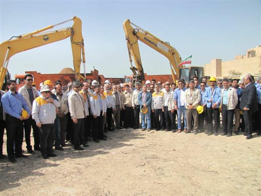 "На площадката на АЕЦ ""Бушер""-2 започнаха строително-монтажните дейности"