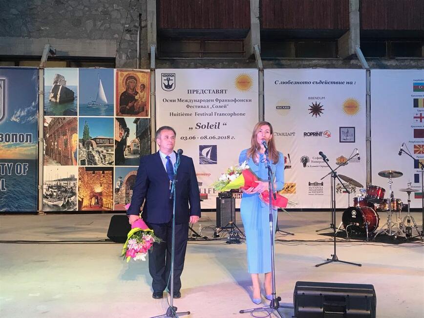 Министър Ангелкова на старта на лятото в Созопол