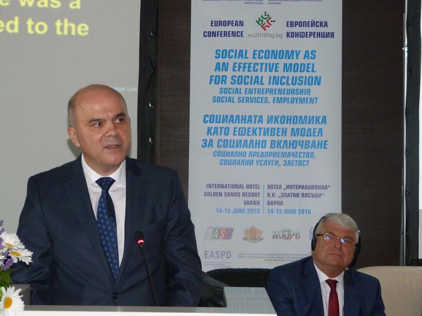 Бисер  Петков: Социалното предприемачество е инструмент за постигане на повече справедливост и по-добра заетост
