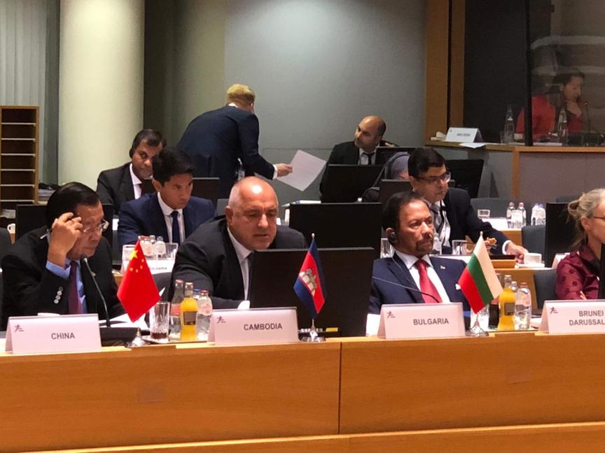 Премиерът Борисов пред АСЕМ: България работи активно за засилване на свързаността на Балканите