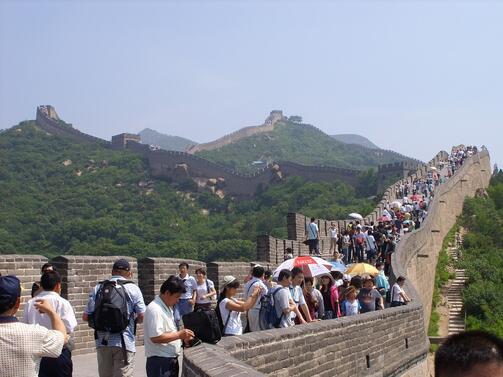 Китай ще измести Франция като най-популярната туристическа дестинация в света