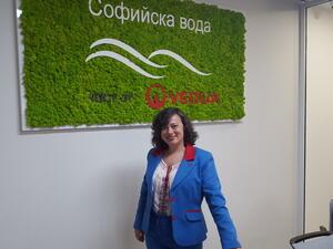 "Габриела Меркоре: 86 е процентът на цялостната удовлетвореност на клиентите на ""Софийска вода"""