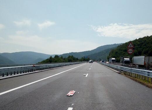 Снимка: Ремонтите по магистрала