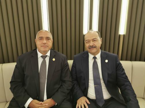 Снимка: Министър-председателят Бойко Борисов участва в Първия каспийски икономически форум в Аваза