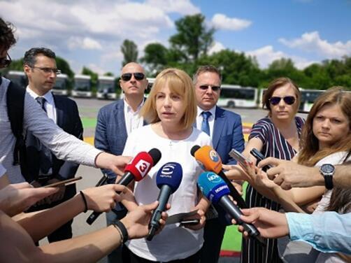 Кметът на София Йорданка Фандъкова обяви официално кандидатурата си за