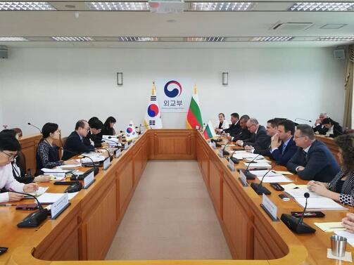 Интересът на корейския бизнес към България доведе до реализирането на