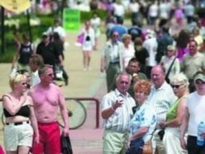 7.6% спад на чуждите туристи у нас